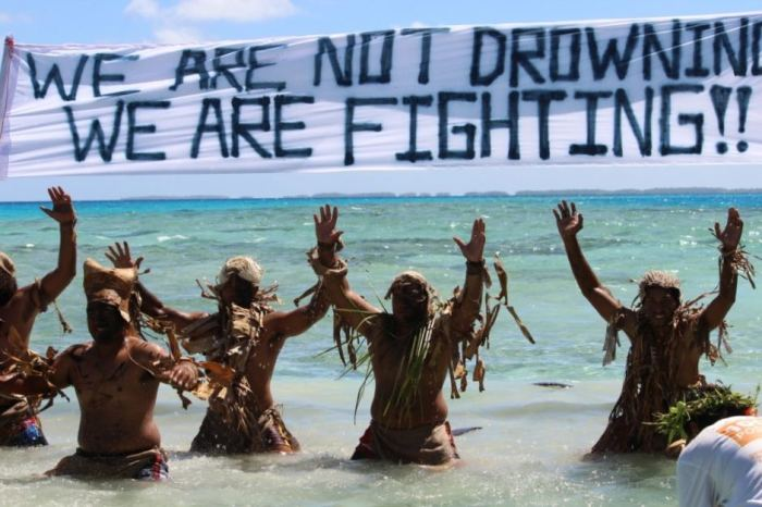 were not drowning