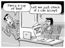 'Fancy a cup of tea?'