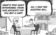 High electric bill